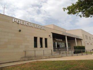 Sede de la Policía Local, donde se ubica Protección Civil