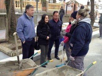 La subdelegada y el alcalde han visitado las obras de la Avenida de América