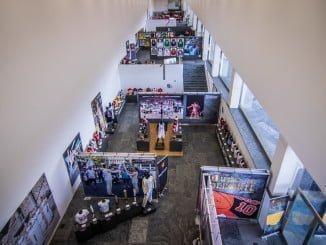 Visión panorámica del Museo del Deporte en Fibes