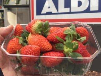 Aldi ha comenzado una campaña vendiendo fresa por debajo del precio de producción