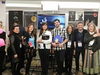 Representantes de las empresas andaluzas que han acudido a este encuentro internacional