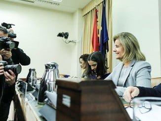 La ministra ha comparecido en la Comisión del Pacto de Toledo en el Congreso de los Diputados