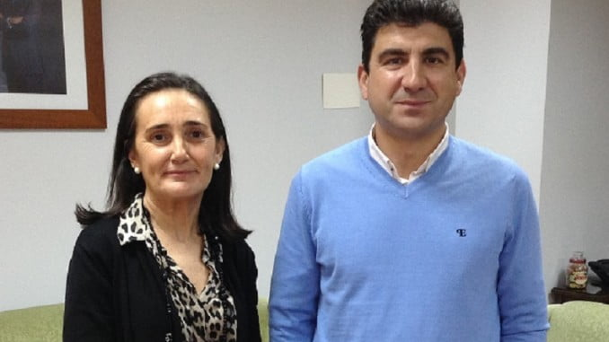 Grávalos se ha reunido hoy con Fernández, el representante de CC OO en Huelva
