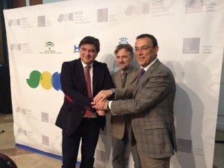 Junta, Diputación y Ayuntamiento han firmado un convenio para la celebración de esta cita internacional