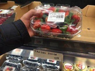 Las fresas de Huelva ofertadas en Aldi por debajo de su precio de producción