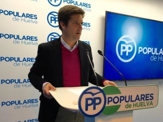 El parlamentario andaluz del PP Guillermo García Longoria