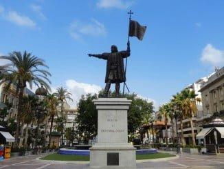 La Ruta iría desde la Plaza de las Monjas, con el monumento a Colón, hasta la Gran Vía