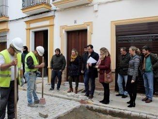 El alcalde y la diputada de Infraestructuras han visitado las obras