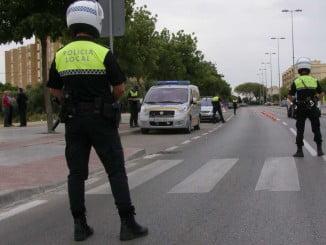La Policía Local ha sido avisada tras el accidente