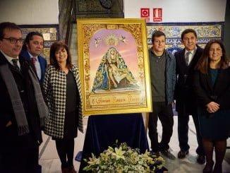 Presentación del cartel, obra de la artista ayamontina Gema Cayuela