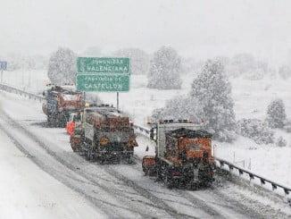 Más de 400 alumnos se quedaron sin cole por no poder acudir a los centros tras las nevadas