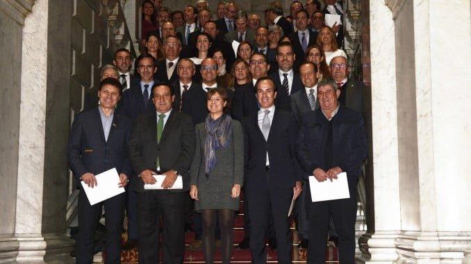 Reunión en Madrid de la ministra Tejerina cuando se cumple un año de la puesta en marcha del Código de Buenas Prácticas Mercantiles
