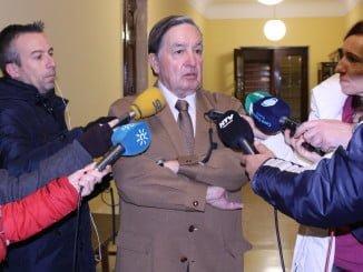Enrique Figueroa (C´s) cree que ha sido vergonzoso que no se haya invitado a la corporación municipal a ver las obras de la estación
