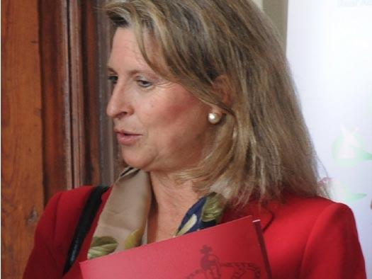 Sara Gómez, profesora de la Universidad Politécnica de Madrid –de la que fue vicerrectora