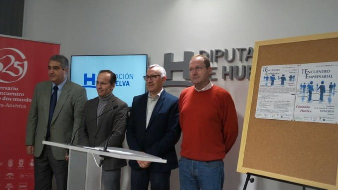 Presentado en Diputación el I Encuentro Empresarial que se celebrará en Hinojos