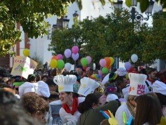 El Carnavalito de Almonte, el primero de las celebraciones del Carnaval en el municipio