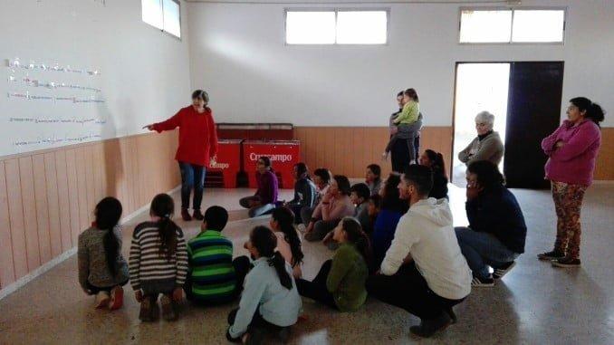 Diputación desarrolla el proyecto 'Sueti Bari' en Paymogo.