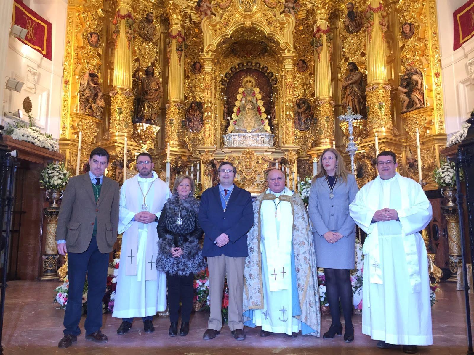 La Matriz entregó el titulo de filial a las nuevas Hermandades de Cartaya y La Carolina.