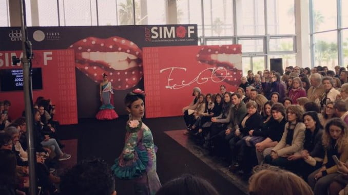 El Salón de la Moda Flamenca se ha convertido en un buen escaparate para las empresas de diseño de Huelva.