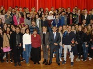 Casi 700 universitarios Erasmus pasarán por la Universidad de Huelva en este curso académico.