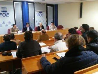 En la asamblea se eligió el presidente y junta directiva de BARECA, integrada por un centenar de profesionales de todas  las comarcas de la provincia