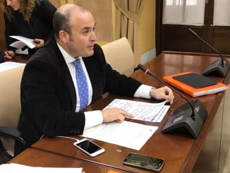 Julio Diaz, satisfecho por haber conseguido una ley reguladora del Consorcio de Bomberos