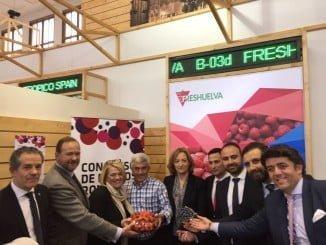 El presidente de ASAJA-Huelva, en Fruit Logística apoyando el sector
