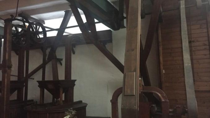 El antiguo molino recuperado de Trigueros, acogerá las migas de autor también este sábado