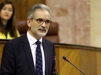 El Consejero de Salud comparece en el Parlamento andaluz