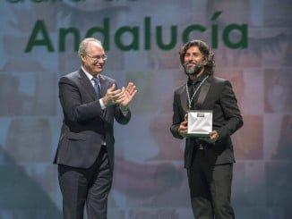 La felicidad de Arcángel tras recibir la más alta distinción de Andalucía