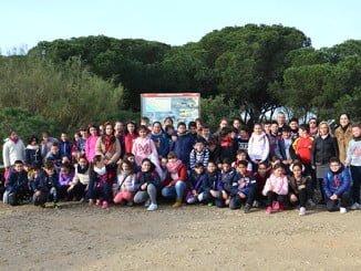 Cepsa celebra en febrero con los escolares de Palos, Huelva y Moguer  el Día de los Humedales