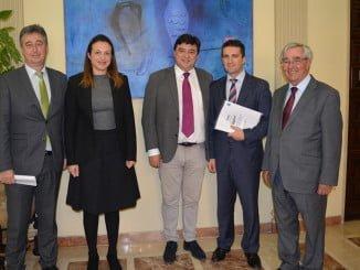 El alcalde ha recibido a una representación del Consorcio para conocer sus actividades