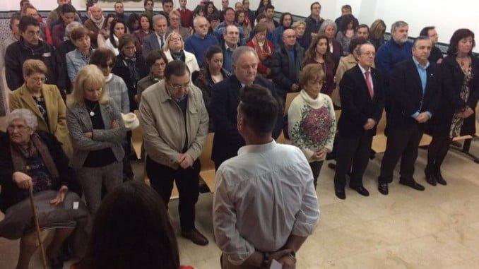 En el acto-homenaje guardaron un minuto de silencio por los voluntarios asesinados en Siria y Afganistán