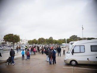 Nueva área de autocaravanas en Ayamonte