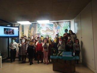 Alrededor de 30 niños han participado en la actividad de fomento de la lectura de Dzul