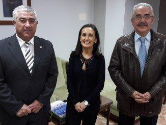 Encuentro institucional subdelegada con representantes del real Club Marítimo de Huelva