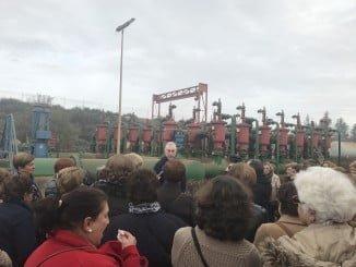 Más de 50 amas de casa visitan las instalaciones de la Comunidad de Regantes de Palos para conocer su funcionanimiento