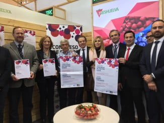 La delegación onubense presenta en Berlín el III Congreso de Frutos Rojos