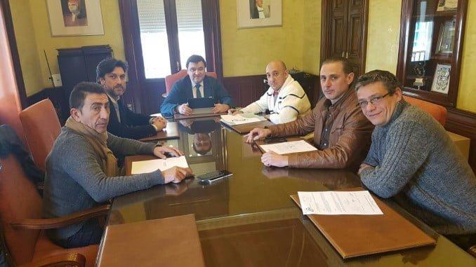 Reunión del CSIF con Cruz y representantes sindicales de la Policía Local