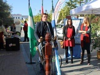 Inauguración de la primera edición por parte de las autoridades municipales