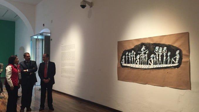 El vicepresidente de Diputación, en el Instituto Cultural de Cabañas