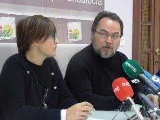 Isabel Lancha y Francisco Javier Camacho en rueda de prensa