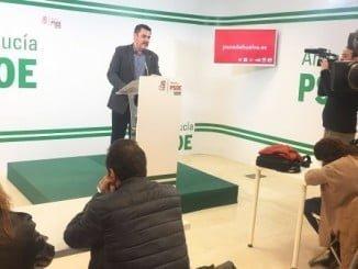 """Ferrera ha dicho en rueda de prensa que el PP """"se ha quitado la careta"""" al pedir un hospital privado"""