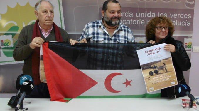 En la imagen, Luis Cruz, Rafael Sánchez Rufo y Charo González
