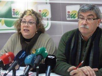 Mónica Rossi y Juan Manuel Arazola, concejales IU Ayuntamiento de Huelva