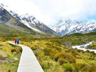 Nueva Zelanda es uno de los destinos más elegidos por los novios, tras Japón
