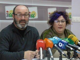Pedro Jiménez y Mónica Rossi en rueda de prensa