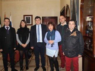 El alcalde ha recibido a esta asociación, que pretende revitalizar Pablo Rada