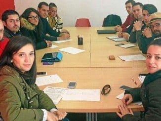 María Márquez ha mantenido un encuentro con jóvenes universitarios