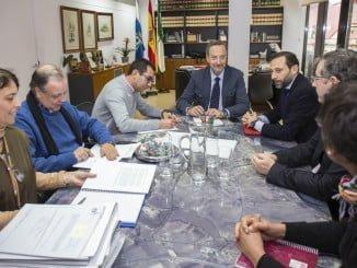 Reunión de la comisión, que se implantará en el resto de las capitales andaluzas